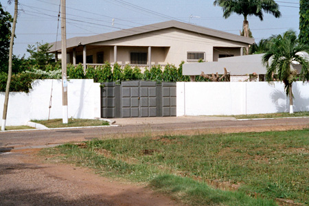 A house in Accra