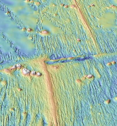 undersea ridge system