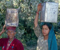 india residents headload water
