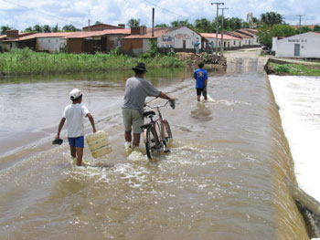 flooding in Ceara, Brazil