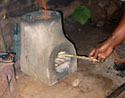 improved cookstove in Sauri, Kenya