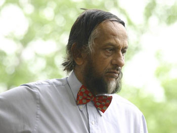 Rajendra Pachauri at a recent IRI board meeting. F. Fiondella / IRI