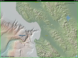 Bathymetry of Monterey Submarine Canyon, off California (Lamont-Doherty Earth Observatory)