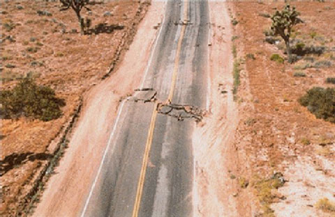 A magnitude 7.3 quake in Landers, Calif., in 1992 killed one person..