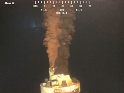 Researchers analyzed high-resolution video to analyze the volume of the Deepwater Horizon spill.