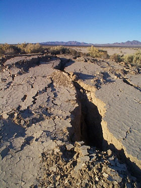 The Landers quake may have triggered another big quake, seven years later, at Hector Mine near Joshua Tree National Park.