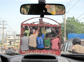 On the road, Port-au-Prince, Haiti