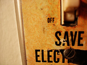Save electricity photo by nilsvik