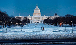 Last winter was the snowiest on record for Washington D.C. and several other East Coast cities. Credit: FamousDC.com