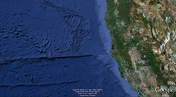 The new 2011 Seafloor Tour will take you to interesting features found on the ocean floor, like the Mendocino Ridge, where the Juan de Fuca plate slides toward western North America.