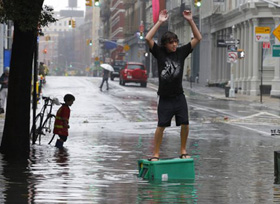 Street flooding that occurred during Hurricane Irene could become more common in the decades ahead.