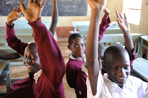 Secondary school can have huge development implications especially for young girls.