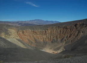 Death Valley's half-mile-wide Ubehebe Crater turns out to have been created 800 years ago—far more recently than generally thought.