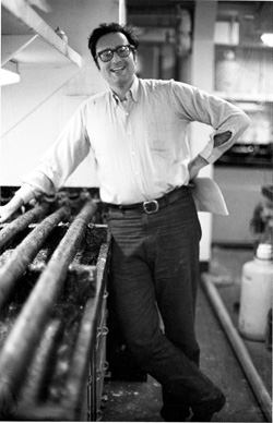 As a young scientist on the Eltanin in 1965, Gordon helped collect seafloor sediments and physical oceanographic measurements.