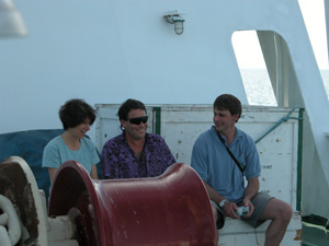 Oppo, Rosenthal and Linsley (R) collected the sediment cores used in the study during an oceanographic expedition off Indonesia in 2003 aboard the R/V Baruna Jaya VIII.