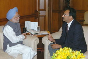 PM Singh and Nirupam