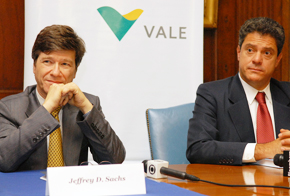 Jeffrey Sachs and Vale CEO Roger Agnelli