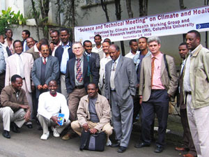 Participants of the Climate and Health Working Group of Ethiopia/ Courtesy of the CHWG Ethiopia