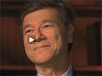 Sachs on Occupy Wall Street and the U.S. Economy - Part 1